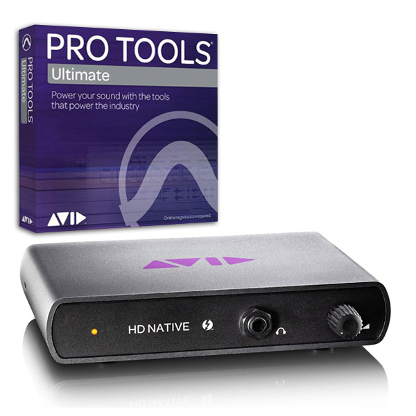 AVID HD Native TB Core with Protools Ultimate Software