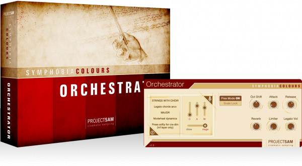 ProjectSAM Symphobia Colours - Orchestrator