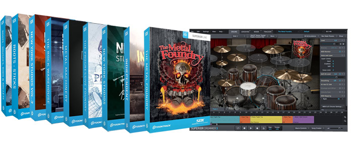 Toontrack SDX Sound Expansions